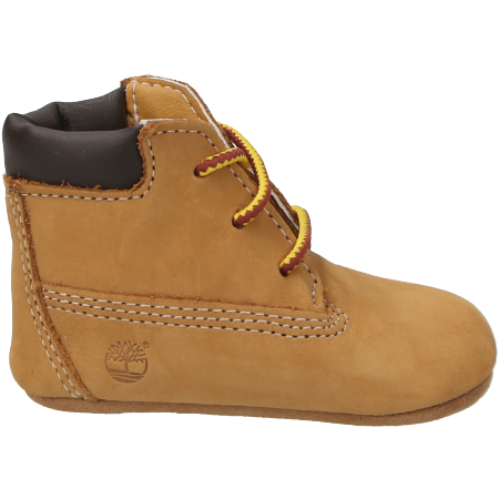 Timberland Crib Bootie with Hat - Hellbraun - sideview