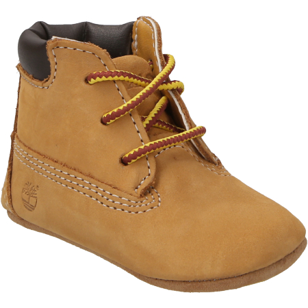 Timberland Crib Bootie with Hat - Hellbraun - mainview