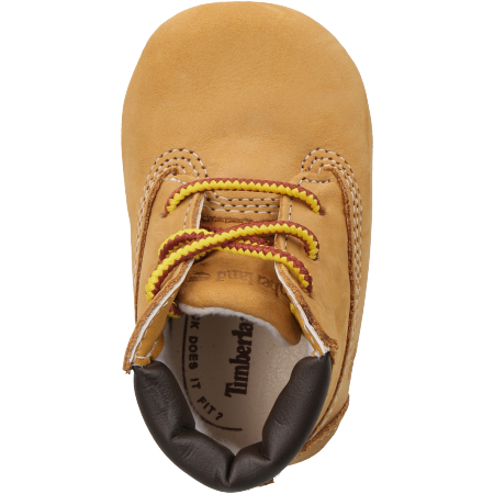 Timberland Crib Bootie with Hat - Hellbraun - upperview