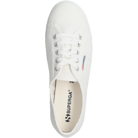 Superga S0001LO 901 - Weiss - upperview