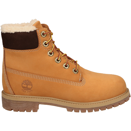 Timberland 6 In Premium WP Shearling Line - Braun - sideview