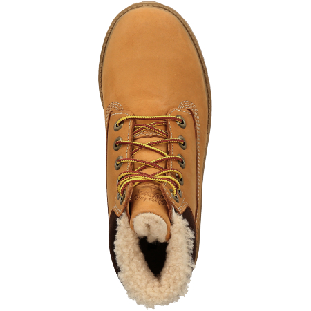 Timberland 6 In Premium WP Shearling Line - Braun - upperview