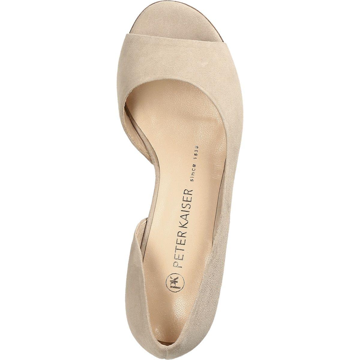 premium selection db5bf 94f66 Peter Kaiser 94135 125 PURA Women's shoes Peeptoes ...