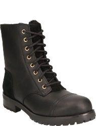 UGG australia Women's shoes BLK KILMER EXPOSED FUR