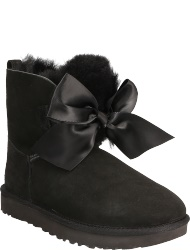 UGG australia Women's shoes BLK GITA BOW MINI