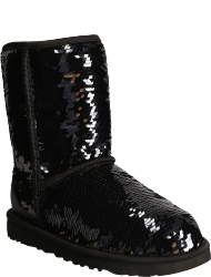 UGG australia Women's shoes BLK CLASSIC SHORT SEQUIN