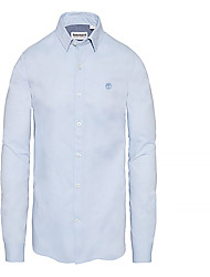 Timberland Men's clothes YHQIK Milford Solid OXF Shirt