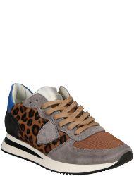 Philippe Model Women's shoes TZLD YL01 TRPX L D LEOPARD GRIS LEO