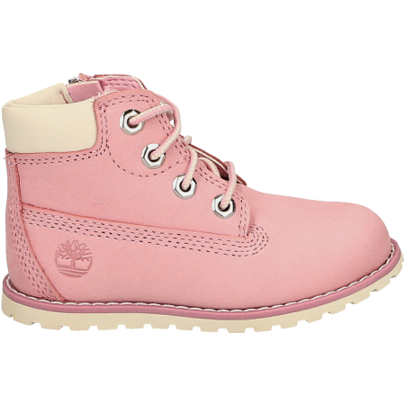 Timberland Pokey Pine 6In Boot with Side  - Rose - sideview