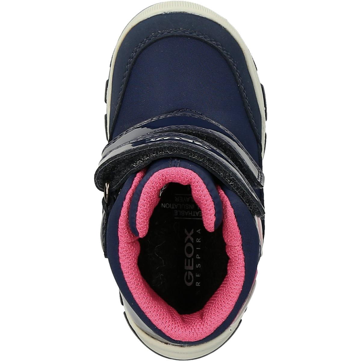 Kinderschuhe Boots GEOX B943WA 0FUHH C4002 FLANFIL im Geox