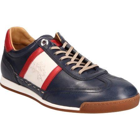 sports shoes 0d153 4efe5 La Martina L7071 182 BUTTERNO BLUE Men's shoes Lace-ups buy ...