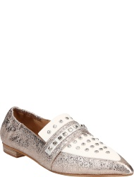Perlato Women's shoes ROSE BLANC ARGENT