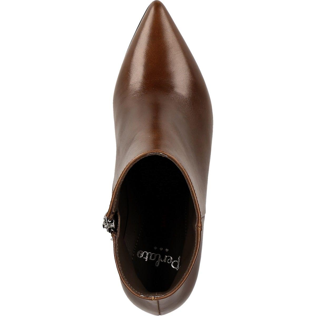 Perlato 11329 COGNAC Women's shoes Half boots buy shoes at