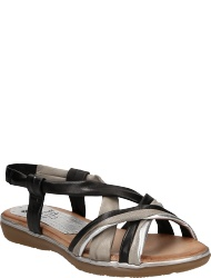 Marila Women's shoes EM NEGROPLATAGRIS