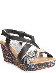 Marila Women's shoes MAS NEGROPLATA