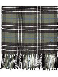 Timberland Accessoires Plaid Scarf W/ Embroidery