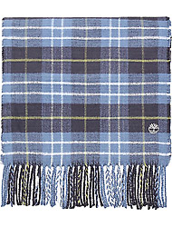 Timberland Men's clothes Plaid Scarf W/ Embroidery