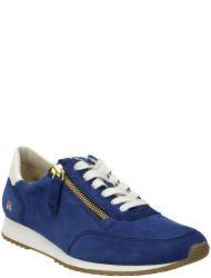 paul green Damen Hightop Sneaker Blau