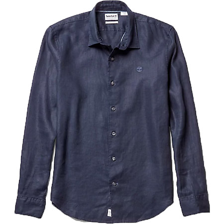 Timberland LS Mill River Linen SF - Blau - mainview