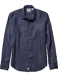 Timberland Men's clothes LS Mill River Linen SF