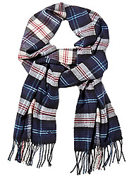 Timberland Men's clothes Plaid Scarf W/Giftbox And Sticker