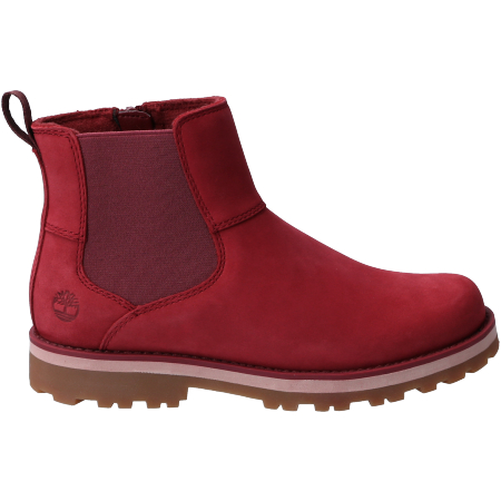 Timberland Courma Kid Chelsea - Rot - sideview