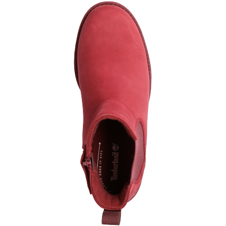 Timberland Courma Kid Chelsea - Rot - upperview
