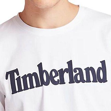Timberland K-R Brand Reg Tee Lin - Weiß - pair