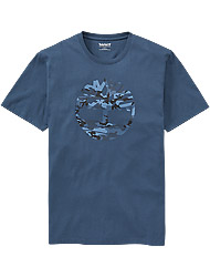Timberland Men's clothes SS K-R Camo Tree T