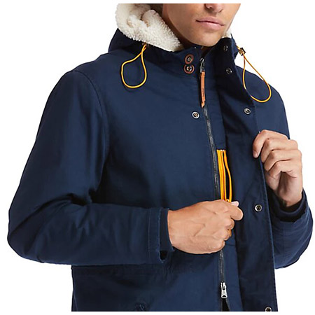 Timberland Parka w Faux S lin - Blau- additional view