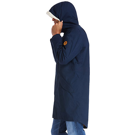 Timberland Parka w Faux S lin - Blau - upperview