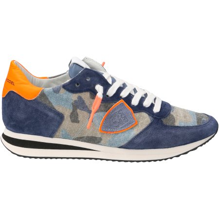 Philippe Model TRPX Camouflage Neon - Blau - sideview