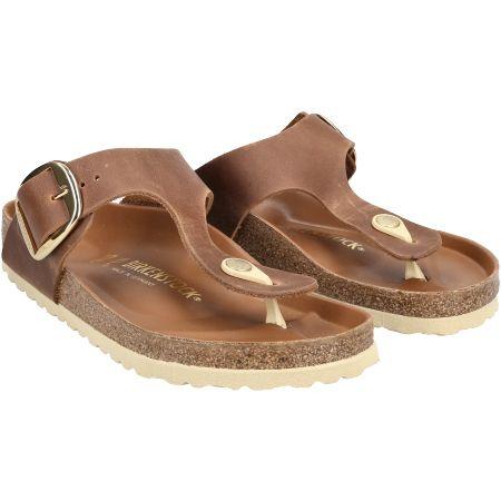 birkenstock Gizeh Big Buckle - Braun - pair