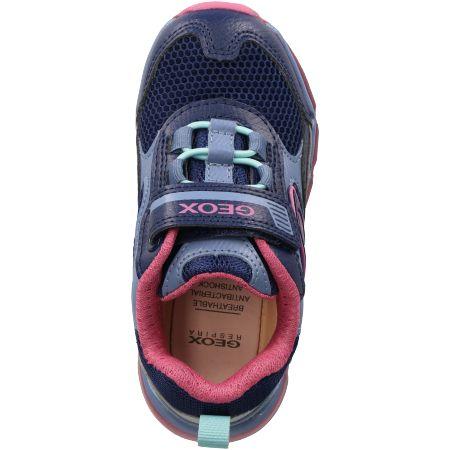 Geox ANDROID - Blau, kombiniert - upperview
