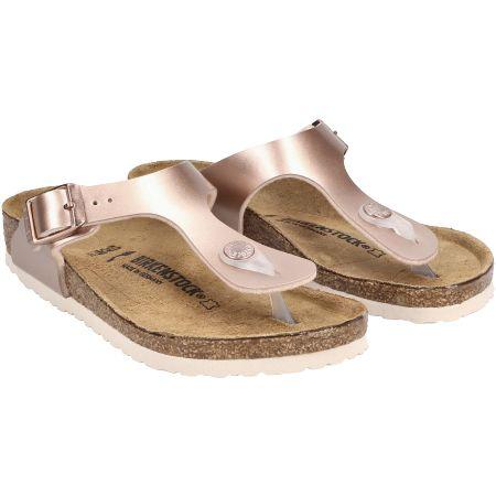 birkenstock Gizeh - Rot, metallic - pair