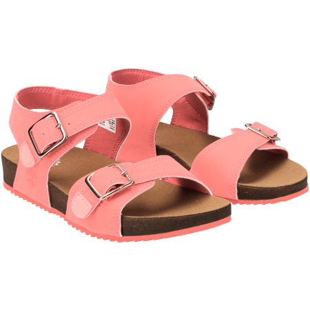 Timberland Castle Island 2 Strap - Pink - pair