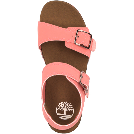 Timberland Castle Island 2 Strap - Pink - upperview