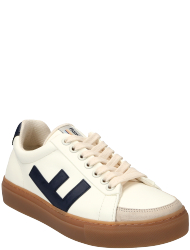 Flamingos' Life Men's shoes CLASSIC 70's WHITE NAVY CARAMEL