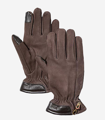Timberland Men's clothes Nubuck Glove W Touch Tips
