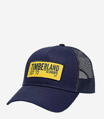 Timberland Men's clothes Curved Brim Trucker W Printed Logo Patch