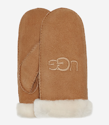 UGG australia Women's clothes SHEARLING UGG EMBROIDER MITTEN