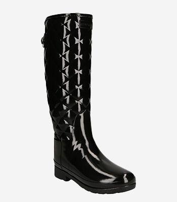 HUNTER BOOTS Women's shoes WFTRGLBLK