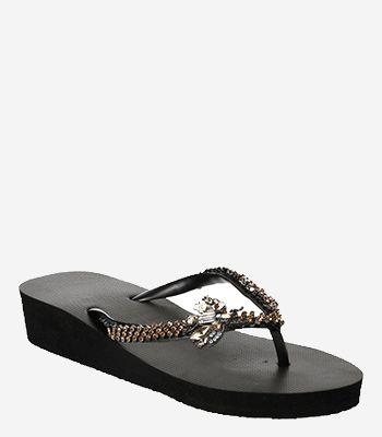 Uzurii Women's shoes GOLD FLY MID HEEL