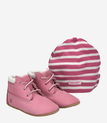 Timberland Children's shoes Crib Bootie with Hat