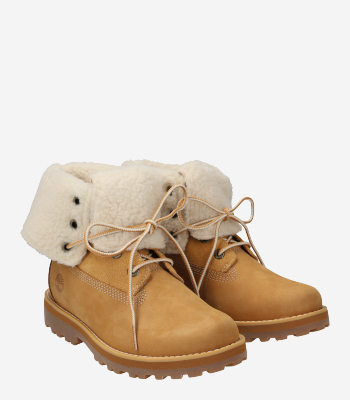Timberland Children's shoes A2NUH A2NTU Courma Kid Shearling Roll Top