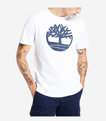 Timberland Men's clothes SS K-R Brand Tree T