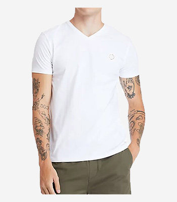 Timberland Men's clothes SS Dun-Riv V Neck T