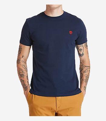 Timberland Men's clothes SS Dun-River Crew T
