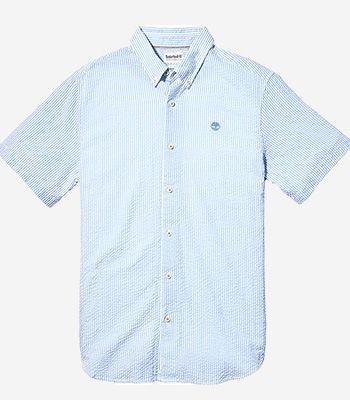 Timberland Men's clothes A2FYYG33 SS Sersucker Shirt