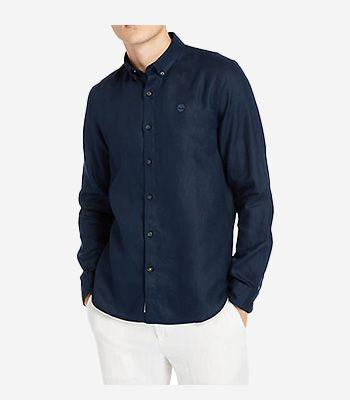Timberland Men's clothes LS Linen Shirt
